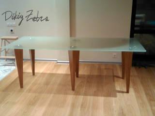 Стеклянный стол от Dikiy Zebra Минимализм