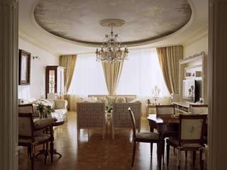 Salas de estar clássicas por Архитектор Татьяна Стащук Clássico