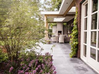 Wellness tuin verbonden met het landschap Landelijke tuinen van Studio REDD exclusieve tuinen Landelijk