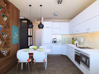 Kitchen by Tatyana Pichugina Design, Eclectic