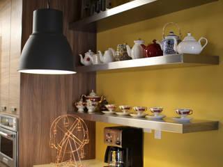 Cocinas de estilo ecléctico por Lo Interior
