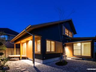 Casas modernas de アグラ設計室一級建築士事務所 agra design room Moderno