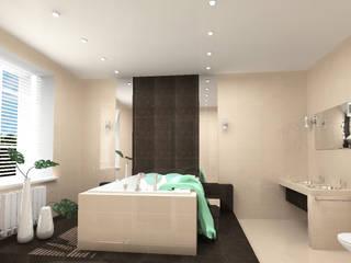 Коттедж на Минском шоссе Ванная комната в стиле минимализм от Елена Савченко. Студия интерьера Минимализм