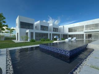 wizualizacja domu jednorodzinnego od renderPLAN