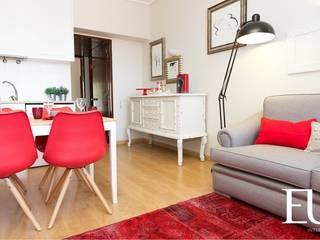 Living room by EU INTERIORES, Modern