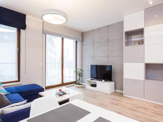 Modern living room by Michał Młynarczyk Fotograf Wnętrz Modern