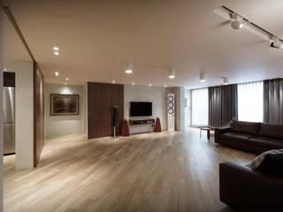Salones de estilo moderno de Qua.D Moderno