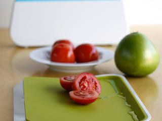 zeebe_spill stop silicone cutting board set: zeebe의 현대 ,모던