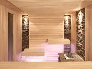 Erdmann Exklusive Saunen Modern Spa Ahşap