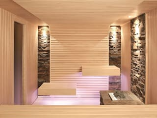 Modern Spa by Erdmann Exklusive Saunen Modern