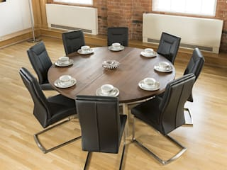 Bespoke solid wood dining tables от Quatropi ltd Скандинавский