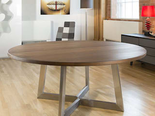Bespoke solid wood dining tables Quatropi ltd ЇдальняТаблиці