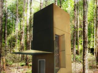 Cabaña de madera de garcia navalon arquitecto