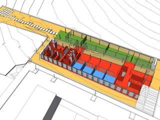 Centro de día en Argamasón (Concurso) de garcia navalon arquitecto