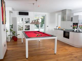 Le Billard table au design minimaliste Fusiontables:  de style  par Fusion Tables,