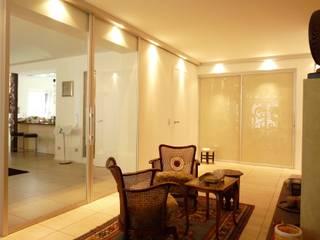 Villa in Erlangen CS interior solutions WohnzimmerBeleuchtung Glas