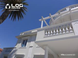 La Villa da sogno sul mare - Livorno (LI) LOG HOUSE