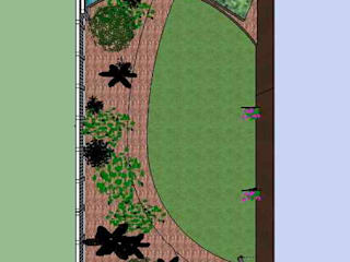 Plan:   by Jane Harries Garden Designs