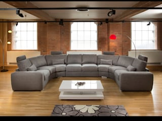 Grande sofa range. Modern living room by Quatropi ltd Modern