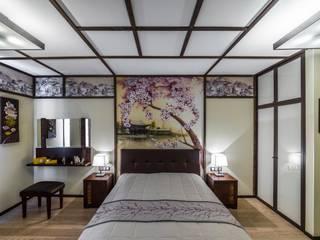 Квартира на ул. Есенина Спальня в азиатском стиле от Belimov-Gushchin Andrey Азиатский