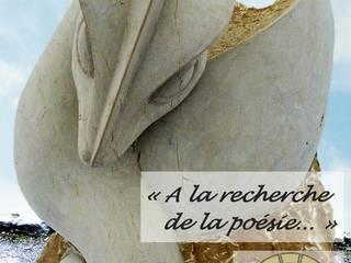 Arlequin 藝術品雕刻品 石器 Beige