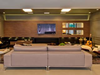 Espaço do Traço arquitetura Modern style media rooms