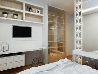 SUÍTE MENINA ♥ : Banheiros  por Eliegi Ambrosi Arquitetura e Design de Interiores