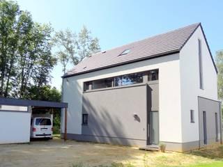 Maison basse énergie à Wavre Maisons modernes par Bureau d'Architectes Desmedt Purnelle Moderne