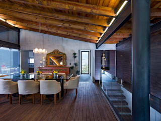 Dining room by BURO ARQUITECTURA