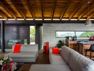 Wohnzimmer von BURO ARQUITECTURA