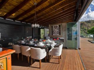 Balcon, Veranda & Terrasse modernes par BURO ARQUITECTURA Moderne