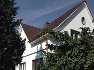 現代房屋設計點子、靈感 & 圖片 根據 Forsberg Architekten AG 現代風
