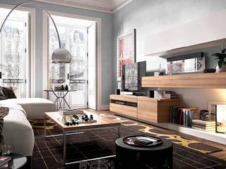 Salones: Salones de estilo  de Muebles Orgón