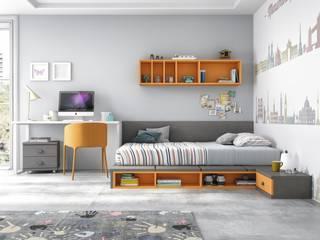 Juvenil: Dormitorios infantiles de estilo  de Muebles Orgón