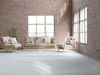 STYLE-K Living roomSofas & armchairs Wood Multicolored