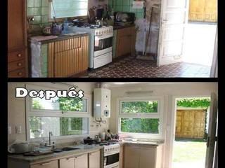 Remodelación cocina de Estela Ramírez, arquitecta.