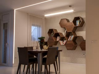 Modern dining room by Lavolta Modern