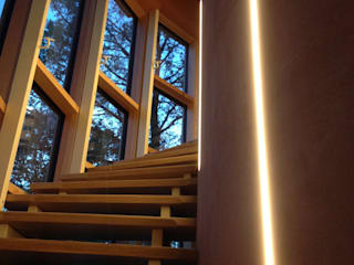 Bureau d'Architectes Desmedt Purnelle Ingresso, Corridoio & Scale in stile moderno