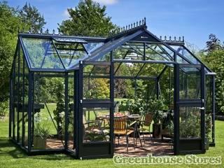 Juliana Orangery Greenhouse:  Garden by Greenhouse Stores