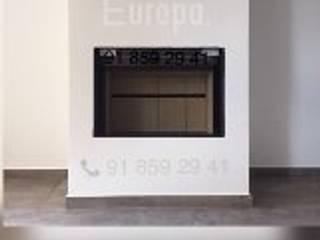 Chimeneas Picos de Europa Ruang Keluarga Modern
