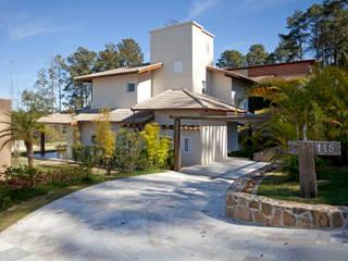 Projeto Atibaia - SP: Casas  por Samy & Ricky Arquitetura