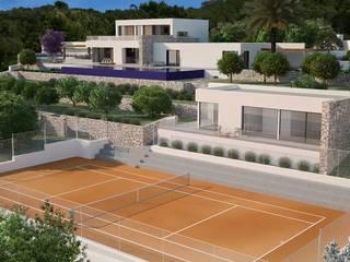 Can Z.Zidane Casas de estilo moderno de Atlant de Vent Moderno