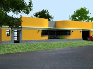 Casas modernas: Ideas, diseños y decoración de CubiK Moderno