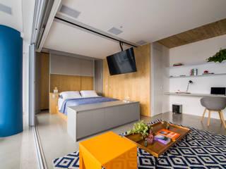 Casa100 Arquitetura Camera da letto moderna