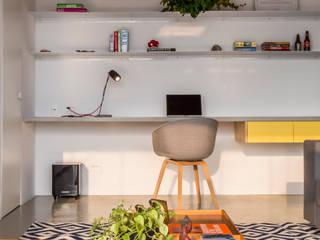 Casa100 Arquitetura Modern living room