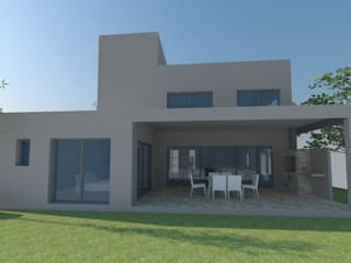 Modern Houses by E+ arquitectura Modern