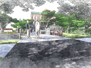Park Project Modern Bahçe Kerem Toprakkaya Modern