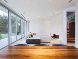 Casa Forte: Livings de estilo  por Aulet & Yaregui Arquitectos
