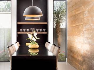 Comedores de estilo  por Camila Castilho - Arquitetura e Interiores