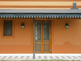 Loo Mapu: Casas de estilo  por Aulet & Yaregui Arquitectos,Rural